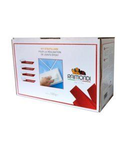 Kit composé de 4 outils pour la réalisation du joint epoxy